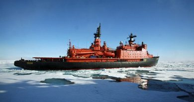 Shipping traffic went down along the Northern Sea Route this year, after four years of increases. (Vladimir Chistyakov/Associated Press)