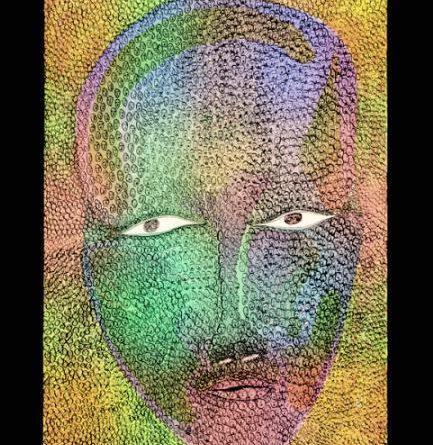 """Not me Anymore,"" a print by Cape Dorset artist Jutai Toonoo. (Dorset Fine Arts)"