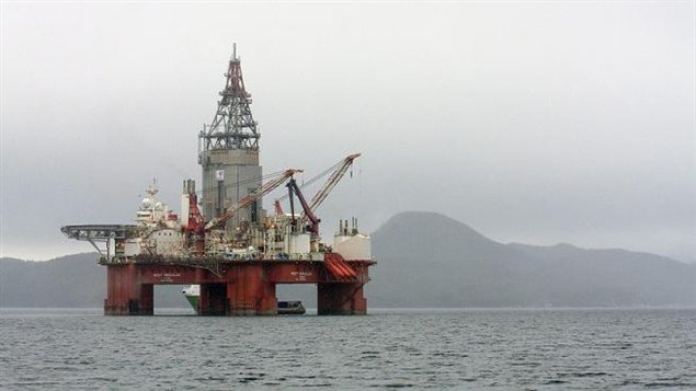 An oil rig in western Norway. Is Canada falling behind compared to Arctic nations like Norway and Russia? (Statoil / Scanpix / AP)