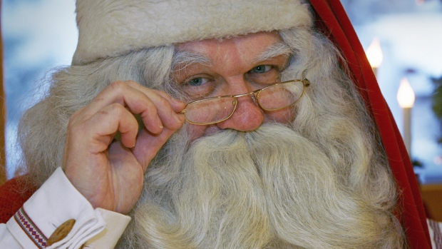 Naughty list or not, Santa may not want to get between Canada and Russia as they make their claims for the North Pole. (Bob Strong/Santa)