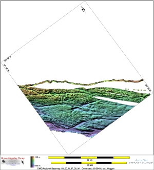 A image of the seafloor in part of Frobisher Bay from UNB's Ocean Mapping Group (Ocean Mapping Group / Weston Renoud)