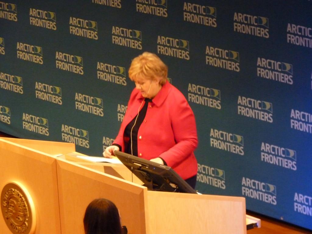 Norwegian premier defends oil policy (Irene Quaile / Deutsche Welle)