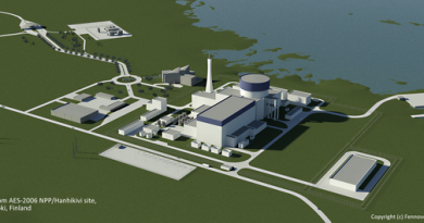 Fennovoima hopes to build the nuclear power station at Hanhikivi, 30 km south of the western city of Raahe in western Finland. (Fennovoima)