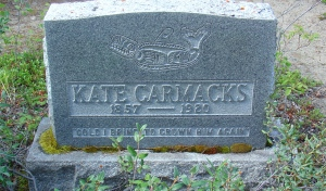Kate Carmack eventually returned to the Yukon where she died in 1920. (Courtesy Deb Vanasse)