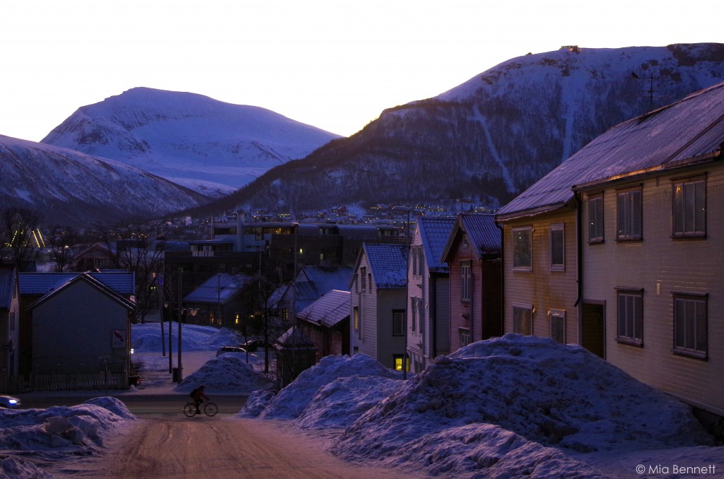 All this, and still not enough housing in Tromsø. January 2014. (Mia Bennett)