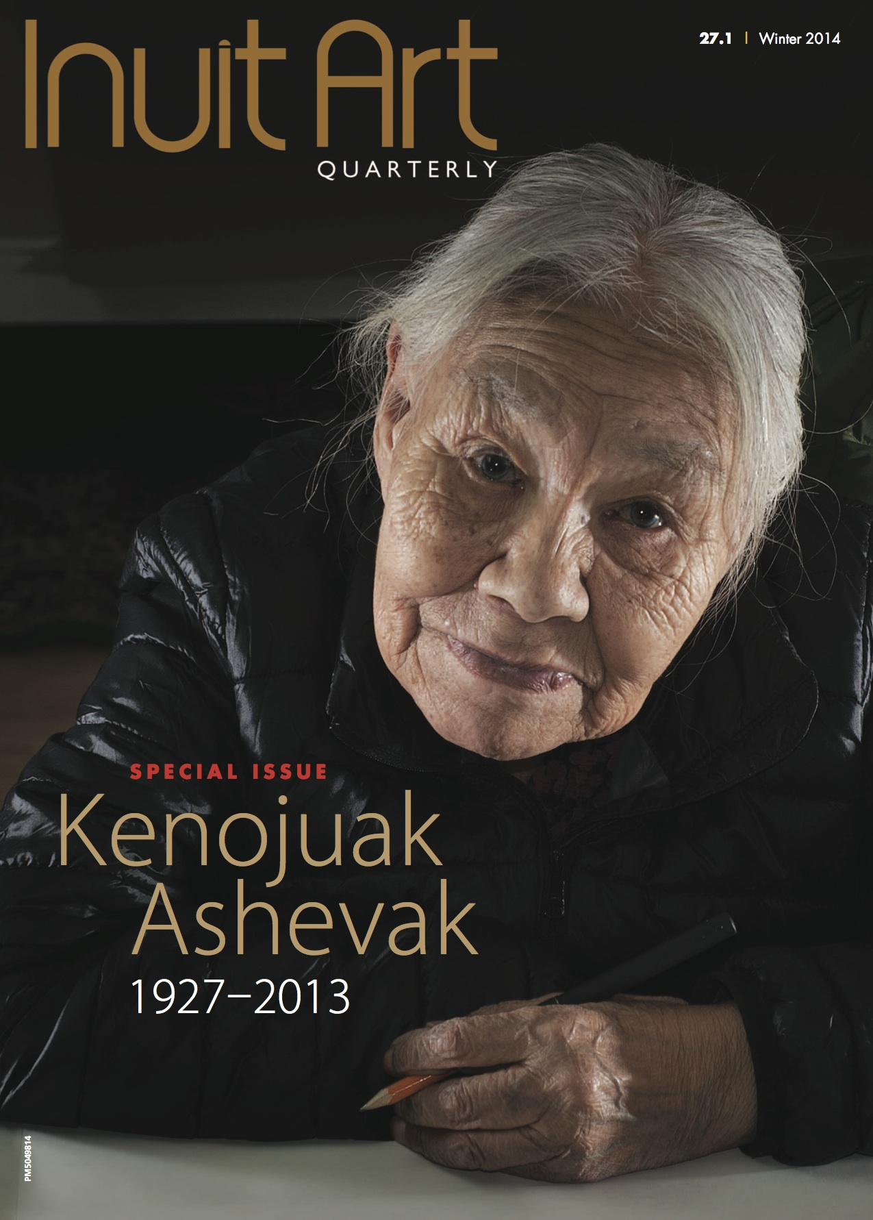 The cover of the new, relaunched Inuit Art Quarterly. (Courtesy Inuit Art Quarterly)