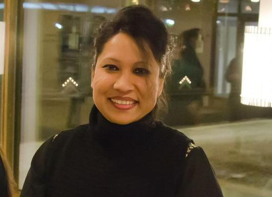 Nasifa Yeasmin, chair of the Arctic Immigrants association. (Yle)