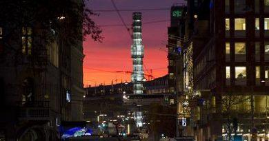 Traffic in Stockholm, Sweden. (Jonathan Nackstrand / AFP)