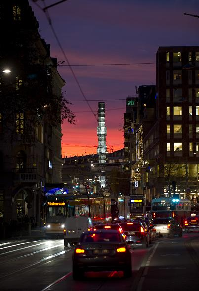 Traffic in Stockholm, Sweden. (Jonathan Nackstrand / AFP)