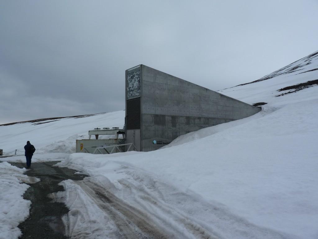 The seed vault on Svalbard.  (I. Quaile, 2010)