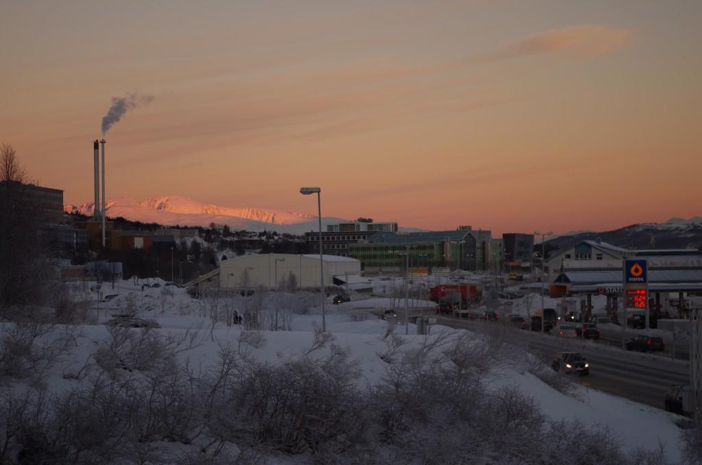 A Statoil gas station in Tromsø, Norway. (Mia Bennett)
