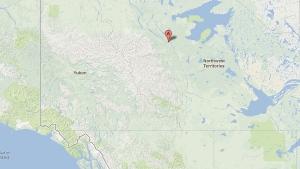 The Tulita region where ConocoPhillips has begun fracking explorations. (Google)
