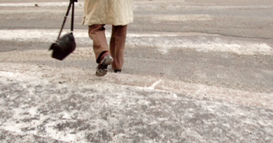 Failing to watch your step could be costly Image: YLE