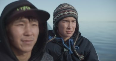 Travis Kunnuk of Igloolik and Lukasi Forrest of Kuujjuaq, Que. star in Uvanga, one of more than 30 films that will be screened during the Available Light Film Festival in Whitehorse this year. (Courtesy Arnait Video Productions Inc.)