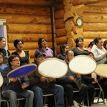 drum dancing in inuvik canada