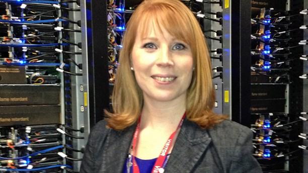 Sweden's industry minister and Centre Party leader Annie Lööf. (Nils Eklund/Sveriges Radio)