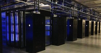 Facebook's existing server center in Luleå. The company said it will build a second facility in the town. (Nils Eklund/Sveriges Radio)