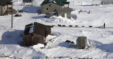 A view of Shaktoolik, Alaska. (Al Grillo / Alaska Dispatch)