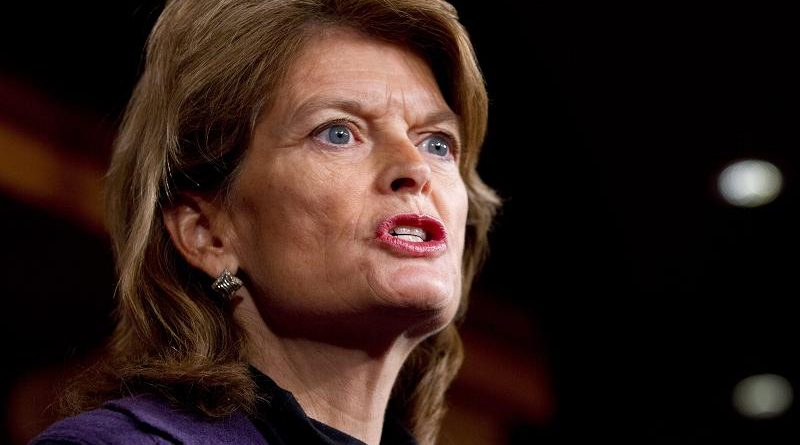 Sen. Lisa Murkowski, R-Alaska, speaks during a news conference in Washington D.C. in 2013. (Jacquelyn Martin / AP)