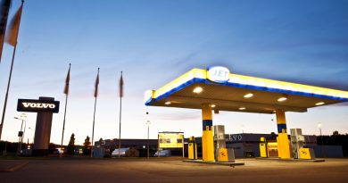 A gas station in Sundsvall, a town in eastern Sweden. (iStock)