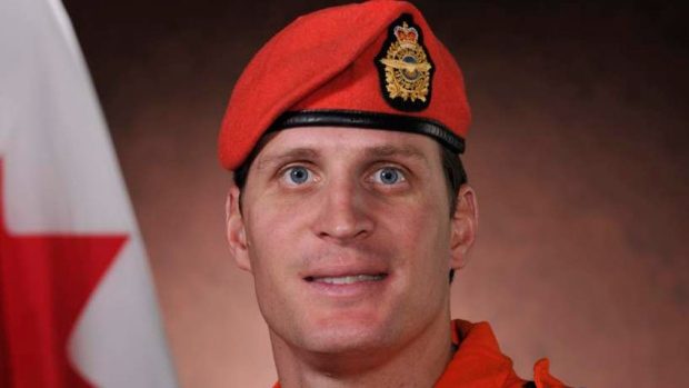 Sgt. Janick Gilbert, 34, of Baie Comeau, Que., drowned in an otherwise successful effort to pluck two Nunavut hunters from the Hecla Strait on Oct. 27, 2011. (Department of National Defence /The Canadian Press)