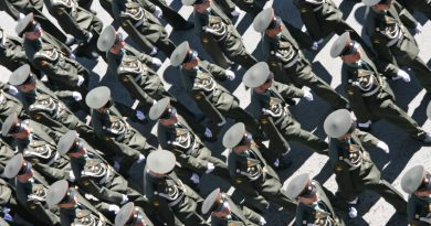 A military parade rehearsal in Moscow in 2013. (iStock)