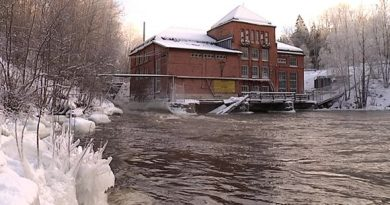 The Åminnefors power plant in western Uusimaa is the first of four blocking the route taken by fish to their breeding grounds. (Petteri Juuti / Yle)