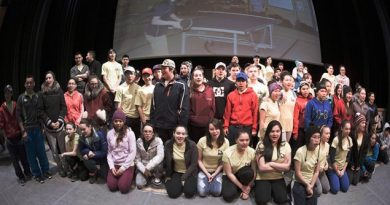 Kids from Team Nunavik-Quebec gather at the Meet & Greet event on March 13th. (Kativik Regional Government)