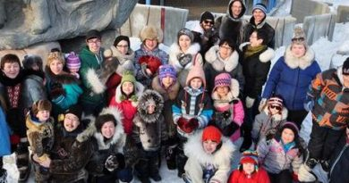#Sealfie shot in downtown Iqaluit, the capital city of Canada's eastern Arctic territory of Nunavut. (CBC)