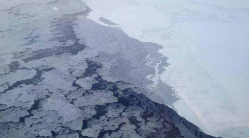 Arctic sea ice in 2013. The Arctic isn't nearly as bright and white as it used to be. (NOAA / AP)