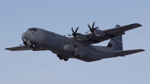 Northern planespotters should be on the lookout for CF-18 Hornet fighter aircraft, CC-130T Hercules, like the one pictured above, and CC-150T Polaris air-to-air refuelling aircraft taking part in NORAD's Operation Spring Forward over the next two weeks. (CBC.ca)
