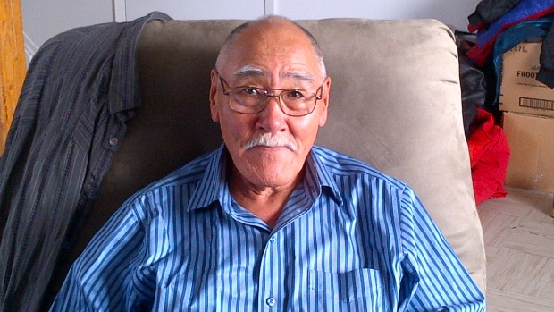 Peter Alareak and his wife Elizabeth have been sent out of Arviat four times for medical appointments that were never booked. 'I've been married to her for 54 years and I have known her to be a very patient woman, and she's starting to complain a bit,' Peter says. (Courtesy Peter Alareak)