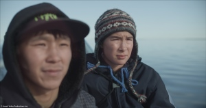 Uvanga tells the story of a 14-year-old boy from Montreal who visits Igloolik with his mother to meet the family of his biological father, who died in mysterious circumstances. (Courtesy Arnait Video Productions Inc.)