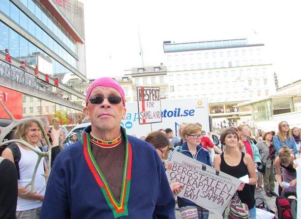 Stefan Mikaelsson, head of the assembly for indigenous Sami, Sametinget. (Radio Sweden)