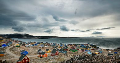 Towns like this in southern Greenland are experiencing the effects of a changing northern climate. Northeastern Canada and neighboring parts of Greenland have warmed about twice as fast as the Arctic as a whole. (iStock)