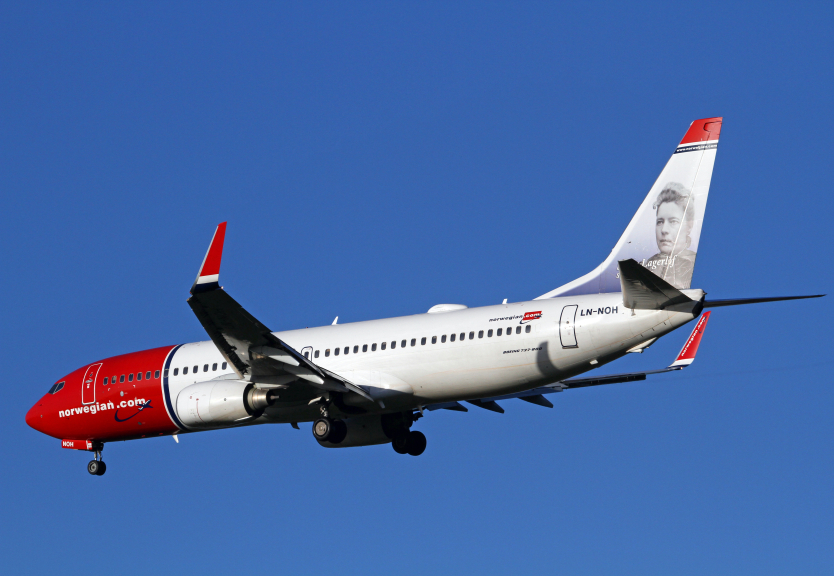 A Norwegian Air flight had to land in Helsinki on Monday after a bird flew into the engine.  (iStock)