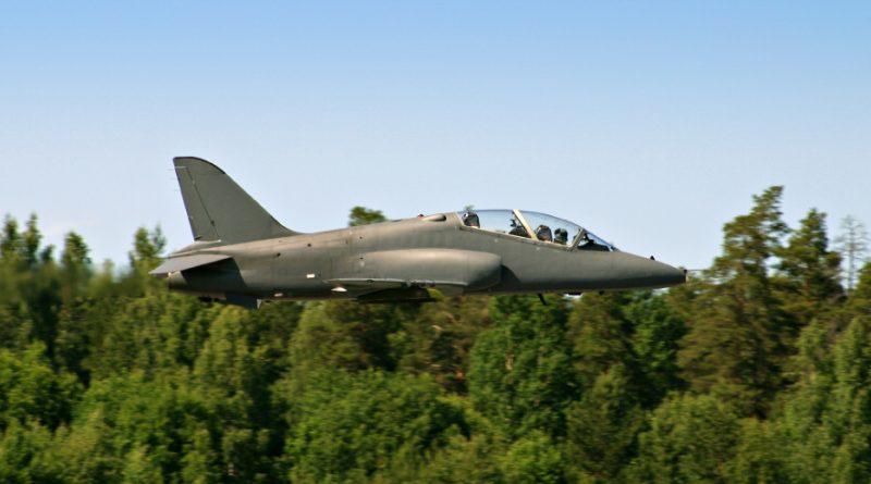 Finnish training fighter Hawk. (iStock)