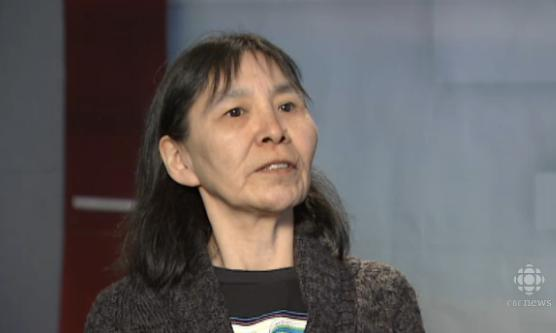 Bessie Kahak says she was sober when staff denied her service, claiming she was intoxicated. (CBC.ca)