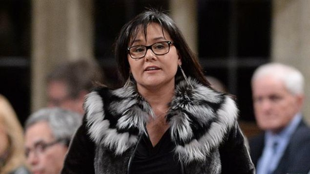 Canada's Environment Minister, and Minister for the Arctic Council, Leona Aglukkaq. (Sean Kilpatrick/The Canadian Press)