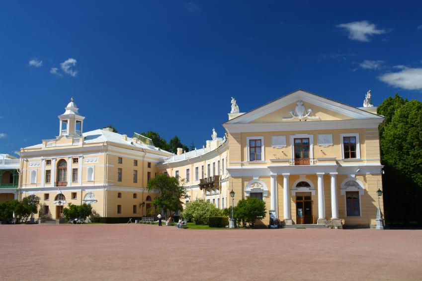 Grand Palace in Pavlovsk Park in Saint-Petersburg, Russia. (iStock)