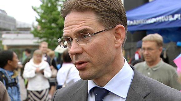 Katainen spoke to Yle on Monday in Helsinki. ( Yle )