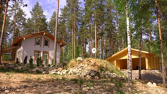 Russian-owned summer cottages in southeastern Finland. (Yle)