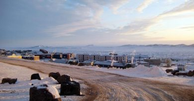 A view of Iqaluit in Canada's eastern Arctic territory of Nunavut. What would a northern university mean to Canada's Arctic communities? (Robert Gillies/AP)