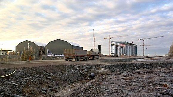 Northland Resources' Kaunisvaara mine in northern Sweden. (Yle)