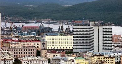 Russia's Arctic city of Murmansk. Two of the new Coast Guard vessels planned by Russia will be based here. (AFP)