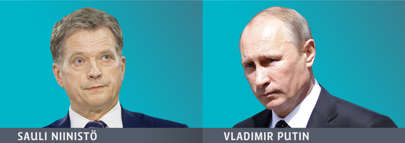 President Niinistö set up a telephone conversation with his Russian opposite number on Wednesday as tensions grew over Ukraine. (Yle Uutisgrafiikka)