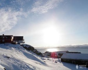 The old town in Greenland's captial city of Nuuk. (Eilís Quinn/Eye on the Arctic)