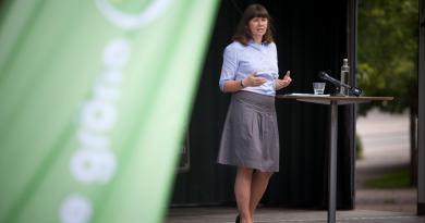 Green party spokesperson Åsa Romson in 2011. (Courtesy Green Party Sweden)