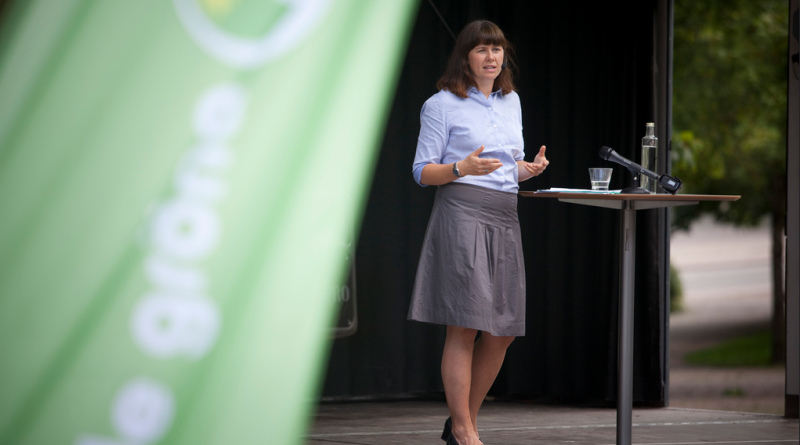 Green party spokesperson Åsa Romson in 2011. (Courtesy Green Party Sweden)