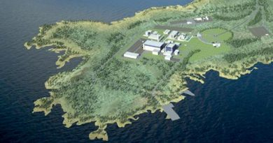 A design for the nuclear reactor to be built in Pyhäjoki in North Finland. (Fennovoima)